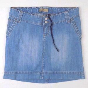 Dresses & Skirts - Old Navy Maternity Jeans Blue Jean Skirt Sz 8